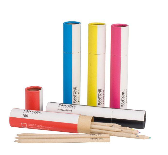 PANTONE UNIVERSE Pencil Pouches and Pencil Tubes $16.00