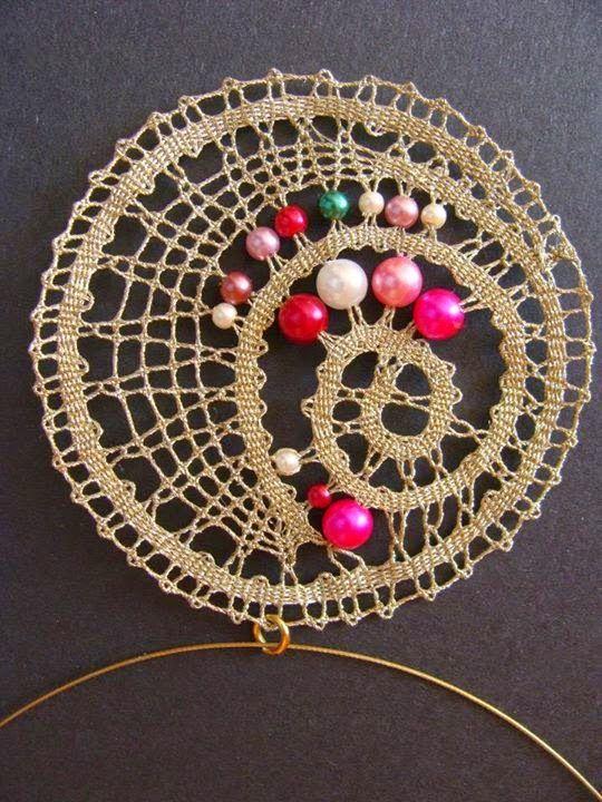 ogrlica z perlicami