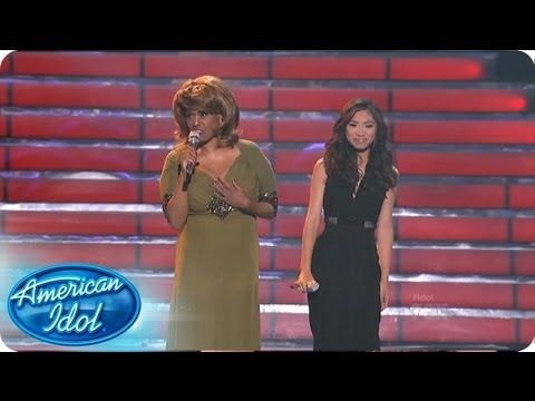 PLEASE WATCH THIS. A PLUS MAZING  Jessica & Jennifer Holliday: And I Am Telling You Im Not Going - AMERICAN IDOL SEASON 11 - YouTube