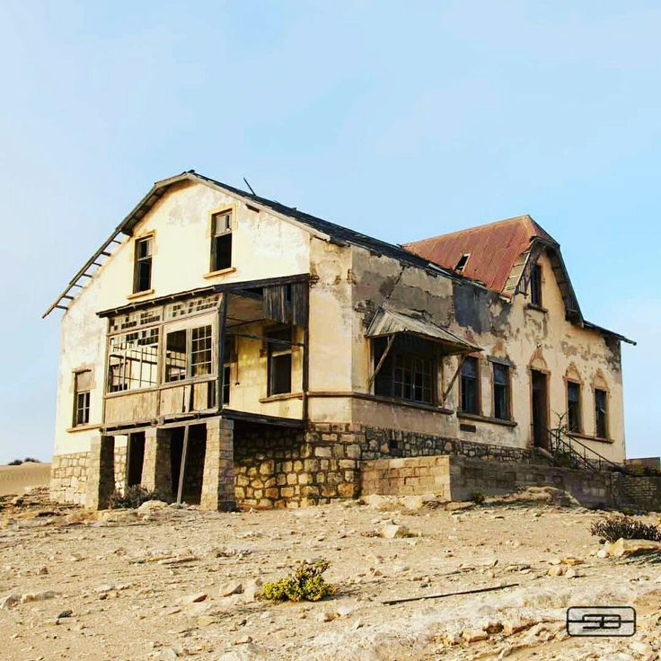 Kolmanskop German Diamond Mine Namibia