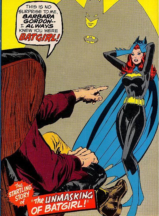 272  Batgirl Unmasked Detective Comics 422  Neal Adams 1972  FLASHBACK TOYS