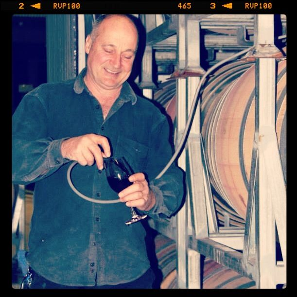 Winemaker Peter Hall doing his magic at McGuigan Wines in the Hunter Valley, Australia. Source: thewinemuse Www.winemuse.com.au