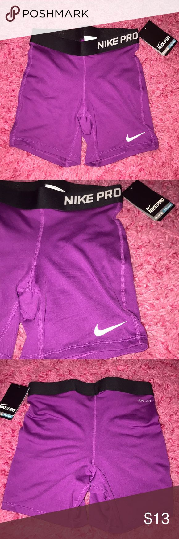 NWT Nike Pro Combat Shorts Nike Pro Combat Shorts. Size is a girls XL but can definitely be a women's xs/s. Brand new with tags Nike Shorts