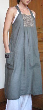 Grain de maïs: robe tablier devant derriere et plein d'idées couture