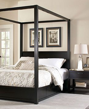 Canopy Bed With Built In Under Bed Storage Canopy
