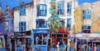 C.S. Lawrence - Urban Landscape_Stairway_Malta - Artists & Illustrators - Original art for sale direct from the artist