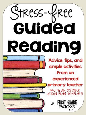 Is guided reading stressful to you?  Are you unsure what you should be doing on a weekly or daily basis with your young readers?  Wor...