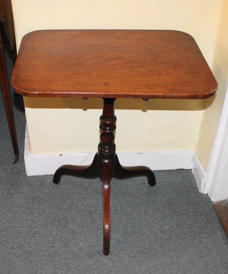 Regency mahogany tripod table
