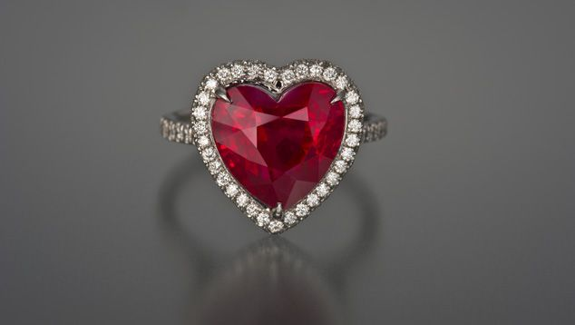 8 Best Rubies Loose Gemstones Britton Diamonds Images On