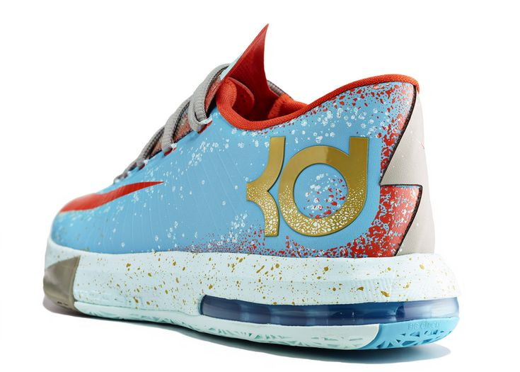 ef42de637a0 Hot 2015 Nike KD 6 Cheap sale Maryland Blue Crab Gamma Blue Gold ...