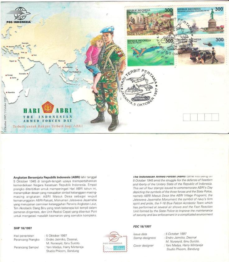 Stamp Hari ABRI