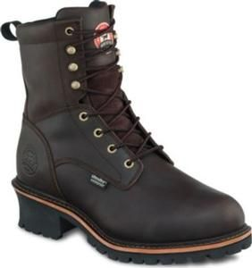 Irish Setter Men's 8 in. Waterproof  Insulated Soft Toe Logger by Red Wing