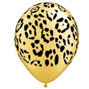 Leopard Spots Latex Balloons Party Accessory Unknown. Save 75 Off!. $2.99. Includes (6) latex balloons.