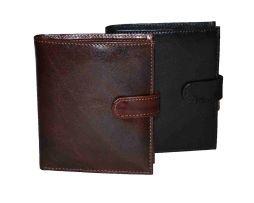 Značková luxusná kožená peňaženka vyrobená z prírodnej kože