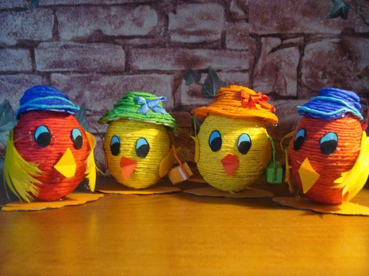 Anne cucito: Z wydmuszki na Wielkanoc
