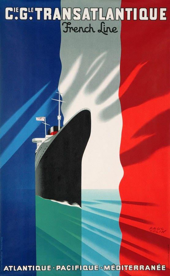 Compagnie générale transatlantique / French Line / Atlantique – Pacifique – Métditerranée