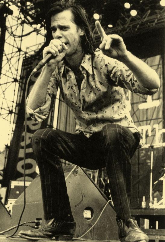Nick Cave Poster - Rock Musician - Live in Concert | eBay