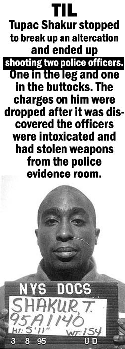 Tupac 2Pac Shakur @Romeotees #TIL #today_I_learned