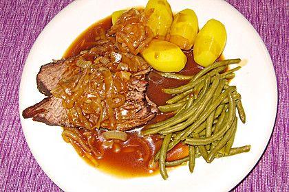 Westfälisches Zwiebelfleisch, ein sehr schönes Rezept aus der Kategorie Deutschland. Bewertungen: 50. Durchschnitt: Ø 4,4.