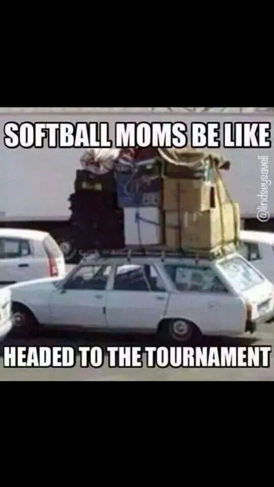 Softball tournament traveling