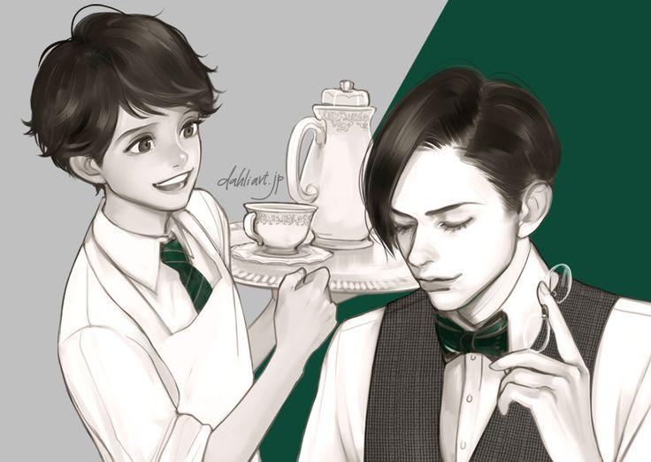 Levi and Eren looking!