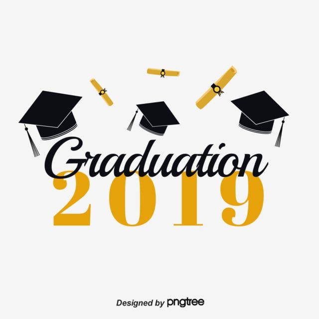 سقوط قبعة التخرج خط 2019 Graduation Cap Company Logo Graduation