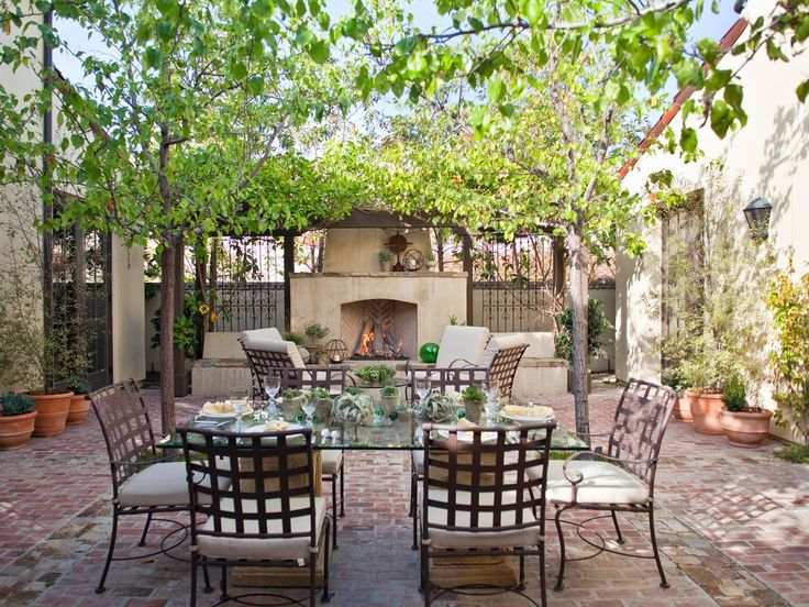 55 Patio Bars + Outdoor Dining Rooms | Outdoor Design - Landscaping Ideas, Porches, Decks, & Patios | HGTV