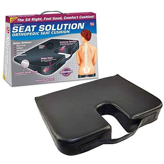Deluxe Seat Solution Orthopedic Seat Cushion Orthopedic Seat