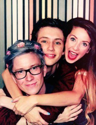 Tyler Oakley, Troye Sivan & Zoella Sugg