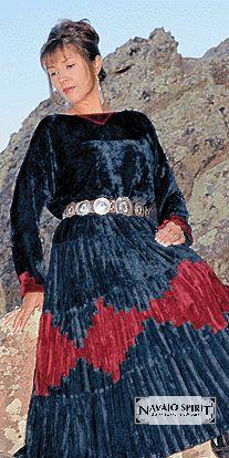 Pictures of beautiful dresses: Navajo dress navajo clothing