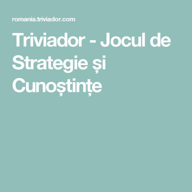 Triviador - Jocul de Strategie și Cunoștințe