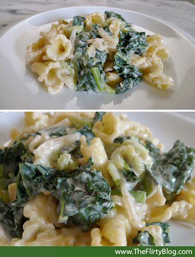 sauteed-organic-kale-pasta-cream-sauce