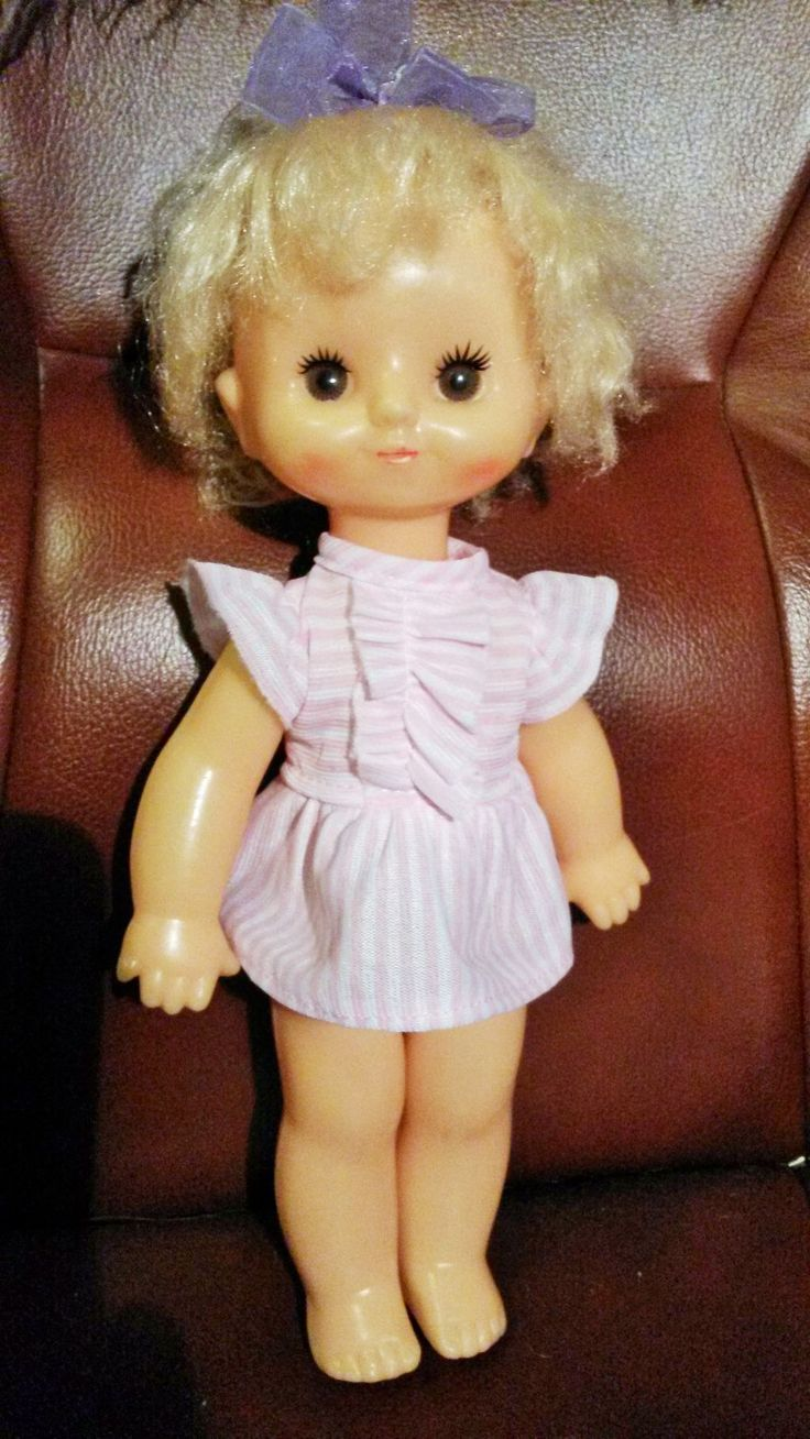 Кукла 32 см ф-ки Кругозор СССР , на резинках