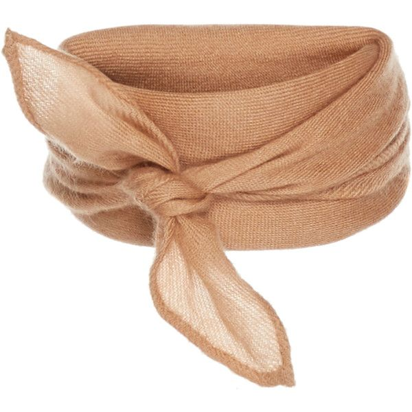 Woven Scarf | Moda Operandi (360 CHF) ❤ liked on Polyvore featuring accessories, scarves, jewelry, chokers, necklaces, woven shawl, woven scarves and braided scarves