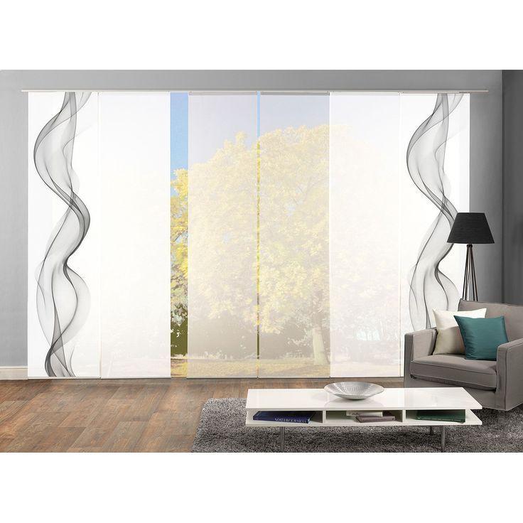 Home24 Schiebevorhang Alberta I 6er Set Schiebevorhang Coole Vorhange Vorhange Wohnzimmer