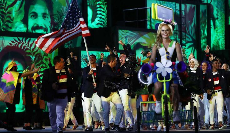 10 Standout Uniforms at the 2016 Rio Opening Ceremony. Cameroon, Micronesia, Tonga and more.