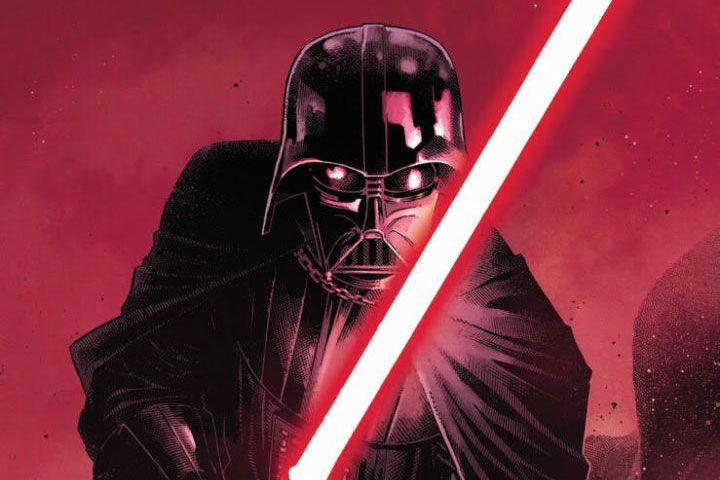 Darth Vader's New Comic Book Reveals How He Got His Red Lightsaber