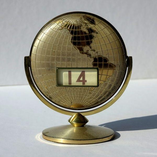Ewiger Kalender 1950 - 1955
