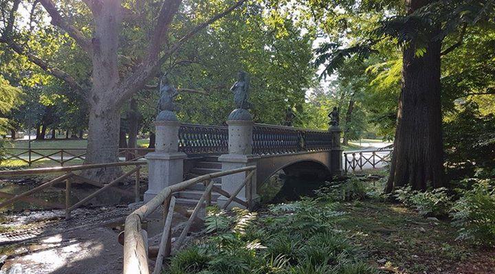 Il ponte....spostato. Foto di Rosanna Brigatti #milanodavedere Milano da Vedere