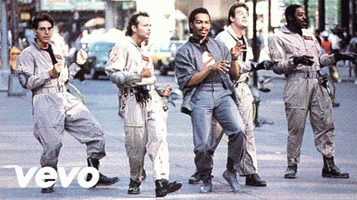 Zombies when zombies weren't cool.... :-) Ray Parker Jr. - Ghostbusters