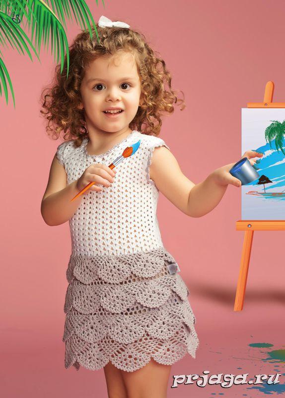 детское платье крючком - Пошук Google