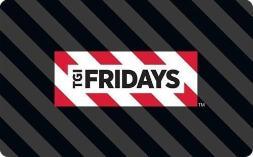 You are bidding on one TGI Fridays $50 eGift Card. Per eBay rules card will be printed and sent via USPS.. #card #gift #fridays