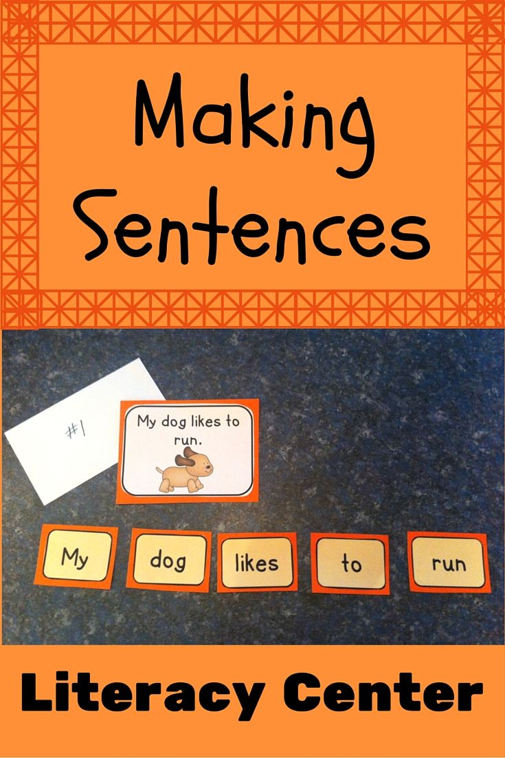 Students can arrange the words in each envelope to make simple sentences. Great for beginning readers!