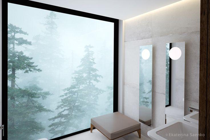 частный дизайнер интерьера спб, современный интерьер ванной комнаты