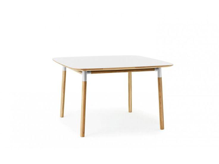 Stół Form 120 x 120 cm biały — Stoły Normann Copenhagen — sfmeble.pl