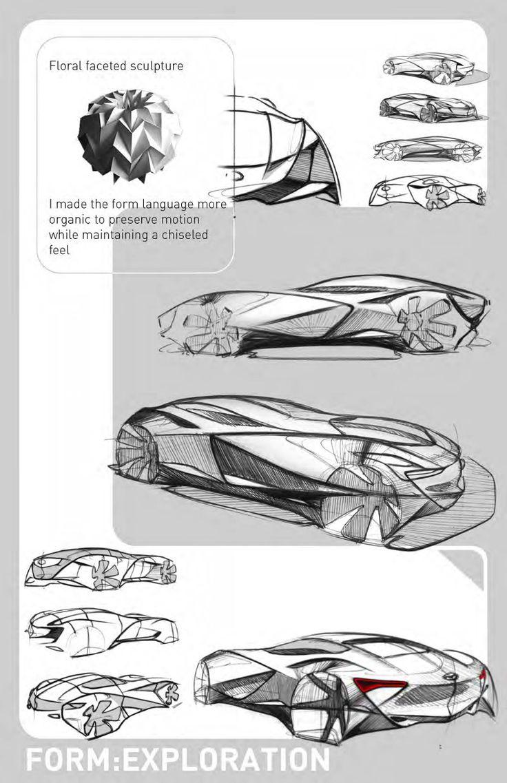 10 best persentation board images on Pinterest | Car design sketch ...