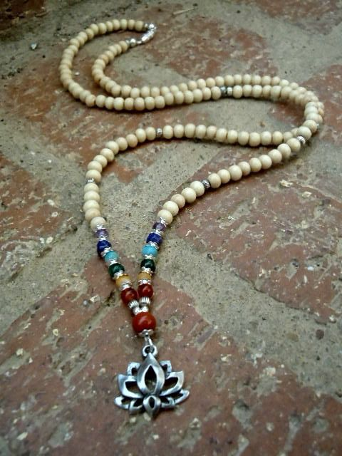 Balance / Yoga Necklace / Chakra Necklace / Chakra by Syrena56, $39.00