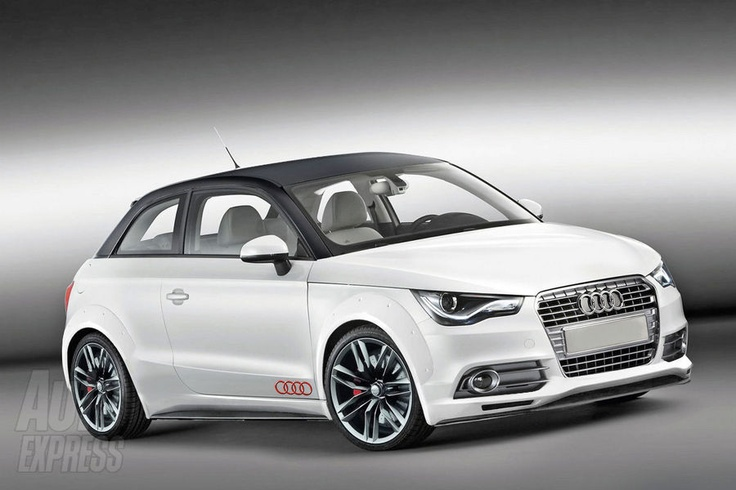 Audi A1 Quattro: hello pretty one. You would look good on my driveway