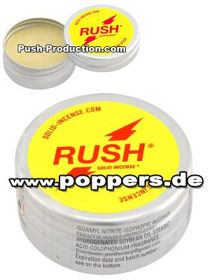 Rush Solid Incense belongs to the best and most effective poppers you'll find! poppers.com | Find our e-shop for the finest incenses and sex toys there are! #Poppers #SolidPoppers #poppers_com