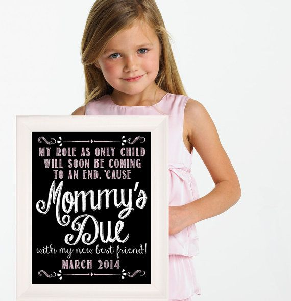78 images about Pregnancy – Big Sister Birth Announcement